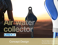 Air water collector