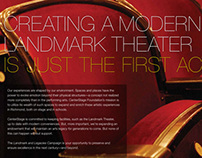 Landmark Theater Fundraising brochure