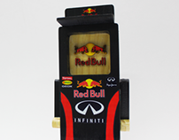 REDBULL F1 TEAM WOODTOY COLLABORATION.