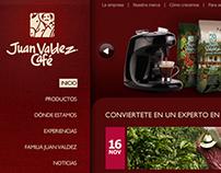Juan Valdez Web Design & Photography Direction