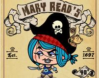 Pirate Rum Labels