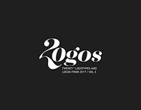 TWENTY + LOGOTYPES & LOGOS FROM 2017 / VOL 2.