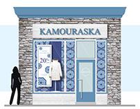 Proposition de façade de Magasin KAMOURASKA
