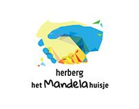 Het Mandelahuisje logo and CI