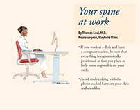 Ergonomics at Work article | patient newsletter