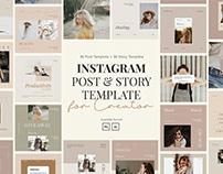 Instagram Post & Story