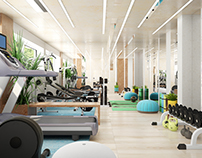 Villa in Spain. Fitness room
