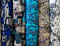 Urban Deterioration: Jacquard Fabrics