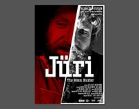 "Poster for documentary ""Jüri"". Acuba Film 2015"