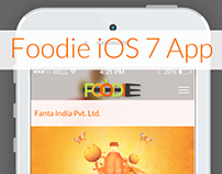 Foodie - an iOS 7 Design by Vinfotech