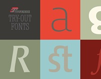 Typofonderie Try-out Fonts (free)