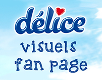 Yaourt Délice Tunisie _ Visuels fan page