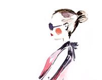 ZARA fashion illustration