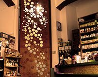 "Cork Lamp and ""Milky Way"" SHOP Raid Natura Ploiesti"