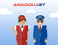 Anadolujet - Illustrations