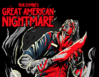 Rob Zombie's Great American Nightmare Tees