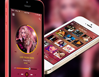 SR Music App Concept
