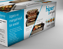Tumtech Hiper Varyete Grill Package Design
