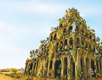 7 Wonders of the World - Hanging Gardens