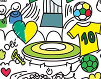Brindes Copa Do Mundo Brasil 2014