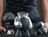 Un Designer Toy Artesanal | An Artisan Designer Toy