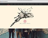 My Last Fall website developing