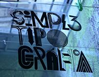 Simpl3 Tipográfica.