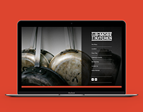 B-More Kitchen Branding and Website