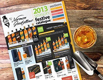 Norman Goodfellows 2013 Festive Catalogue Design