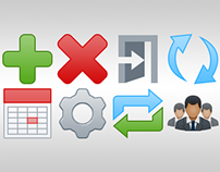 Bentley CONNECT Project Sharing Administrator Icons