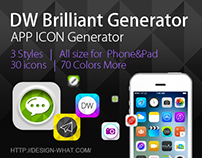 Brilliant APP ICON Generator