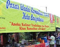 Pasar Wadai (Accidentally Market in Ramadhan)
