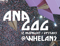 Ana Gog - Band Poster