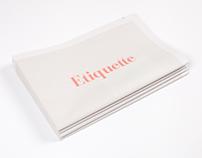 Etiquette Newspaper