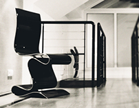 SCULPTURE carbon chair