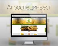 "Дизайн сайта ""Агроспецинвест"""