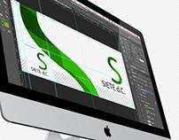 Rediseño Logo Siete d.C.