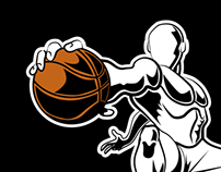 Basketball Mascot for Logo