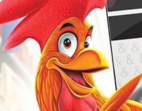 Rooster character (Coop supermarket)