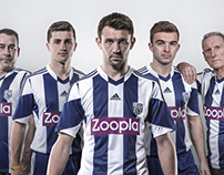 West Bromwich Albion Kit Launch 2013
