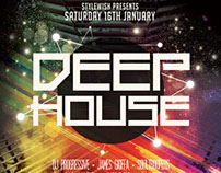 Deep House Flyer