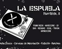 Flyer Taberna La Espuela