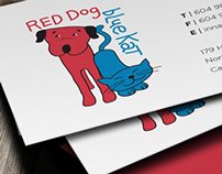 Red Dog Deli Business Cards