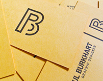 Personal Business Card - Letterpress