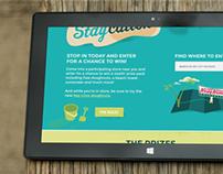 Krispy Kreme Key Lime Staycation Promotion