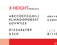 X Height Medium