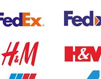 Famous Logos Re-designed