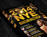 NYE Party | Flyer + FB Cover