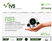 IVS Website Design / Clear