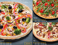 sushi and pizza photo|| for RollHouse menu